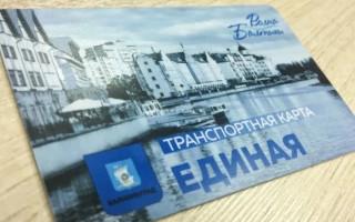 Как купить, пополнить и оплатить проезд транспортной картой Волна Балтики