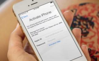 Активация всех моделей Apple iPhone и что делать если не удалось активировать touch id